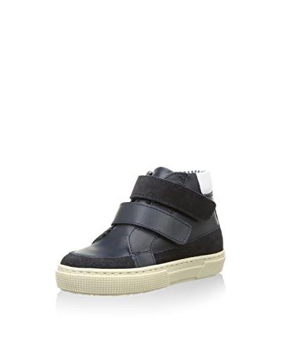 Petit Bateau Sneaker Alta [Blu Scuro]