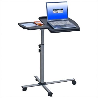 Buy Low Price Comfortable Mad Tech 36x16x30 Graphite Mdf Panel & Steel Frame Computer Office Desk Table (B004W0MF0M)