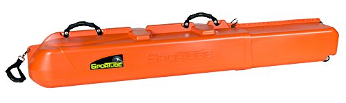 Sportube Series 3 Ski Snowboard Case, Blaze Orange