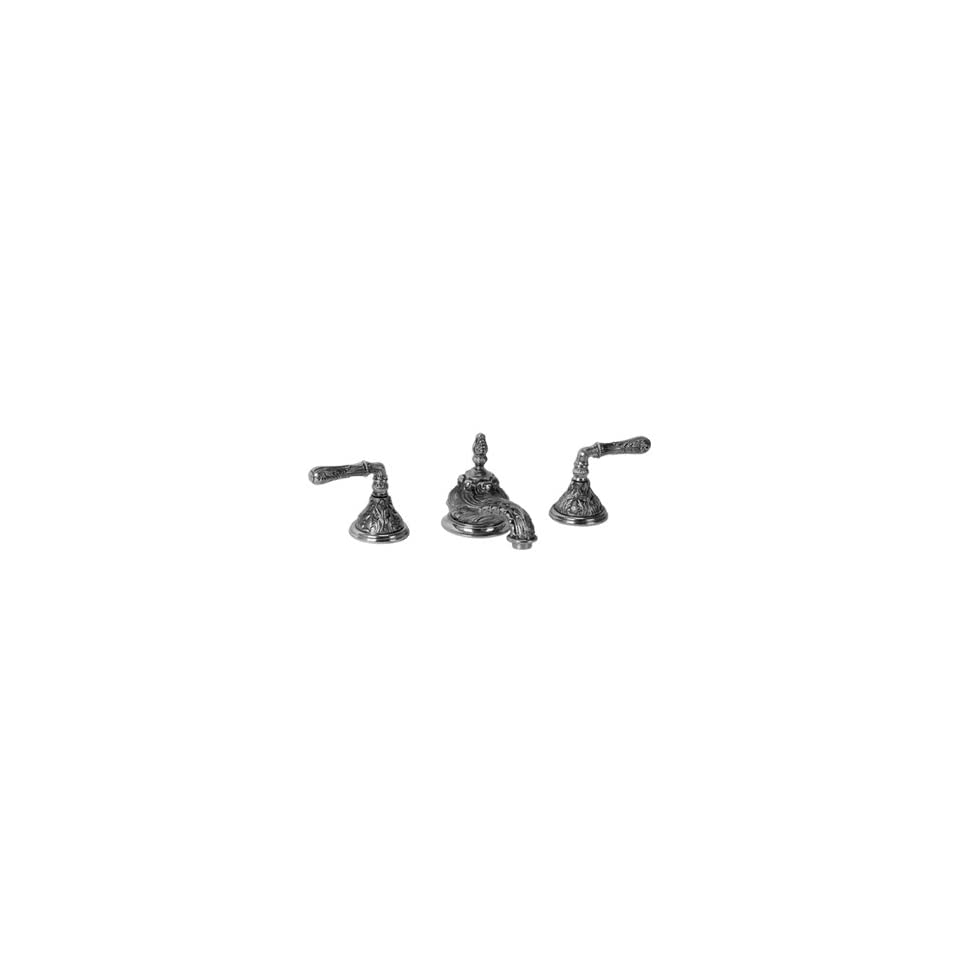 Legacy Brass 4451 Polished Brass Bathroom Sink Faucets Lever Handles 8 Lav Faucet