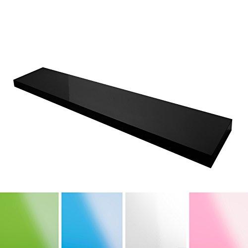 casa-pura-Design-Wandregal-Stockholm-Hochglanz-freischwebend-versteckte-Halterung-gesundheitsfreundliche-Materialien-in-5-Farben-und-3-Lngen-schwarz-80cm
