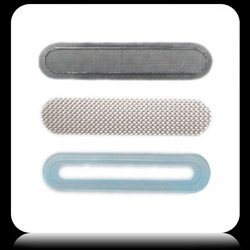 3 In 1 Anti Dust Self Adhesive Ear Speaker Mesh Grill For All Iphone 3G 3Gs 4 4G 4S 4Gs