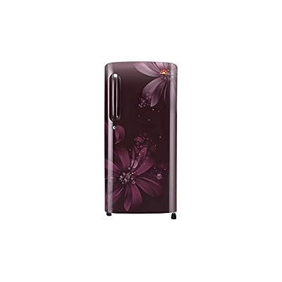 LG B201ASAN 190 Ltr. 5 Star Single Door Refrigerator (Scarlet Aster,190 ltr) (1)