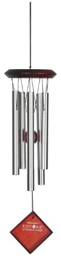Woodstock Encore Collection Silver Chimes of Mars Windchime