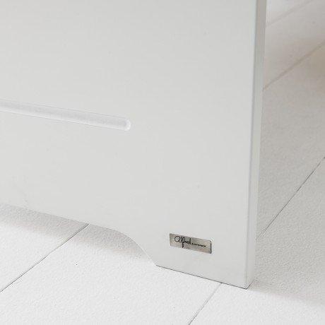 Alfred & Compagnie - Lit junior 90x200 blanc ALBAN