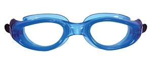 Aqua Sphere Kaiman Schwimmbrille - Klare Gläser - Blaues Gestell Ausgezeichnet zum Schwimmen geeignet