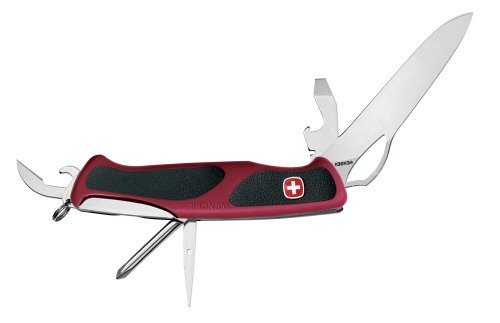 Wenger 16314 Swiss Army Rangergrip 60 Knife Red And Black