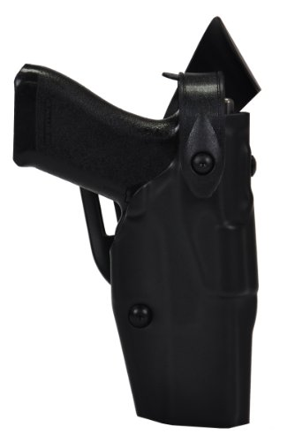 Safariland 6360 Level III ALS Retention Duty Holster, Mid-Ride, Black, STX Plain, Glock 17, 22 from Safariland