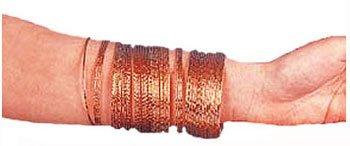 Gold Gypsy Bangle Bracelets 50pk