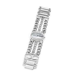 Just Cavalli Men's & Women's Stainless Steel Case mineral Watch R7253184502
