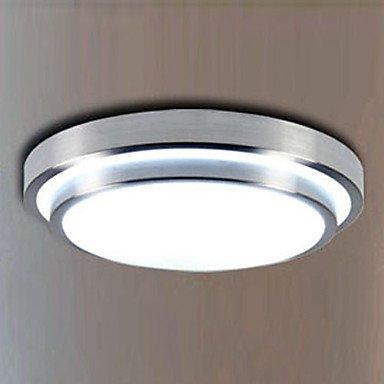 Modern Creative Led Flush Mount Light Aluminum Acrylic Electroplating