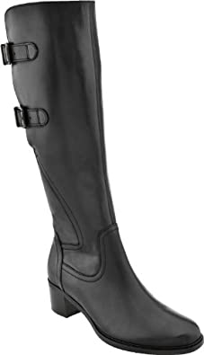 Gabor Women's Black Adjustable Calf Riding Boot 51.619 4.5 F(M) UK