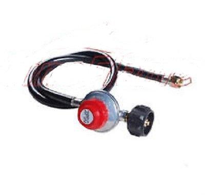 Adjustable Propane Gas Regulator BBQ Grill Burner Wok Fryer 4ft hose 20PSI