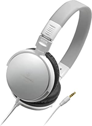 audio-technica ポータブルヘッドホン(ホワイト) ATH-ES7-WH