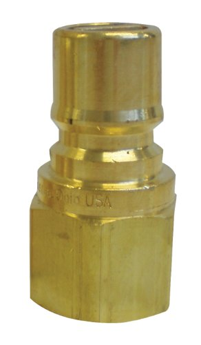 Burnaby Manufacturing 100-510 Gas Mate Kwik Disconnect Plug, 3/4-Inch