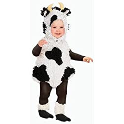 Princess Paradise Unisex Baby Kelly The Cow, White/Black, 6/12 Months