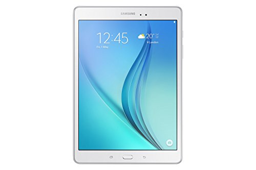 "Samsung Galaxy Tab A Tablet, Display 9,7"", 16 GB, 1.5 GB RAM, Bianco"