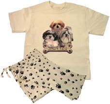 Buy Shih Tzu Lounge Wear Set