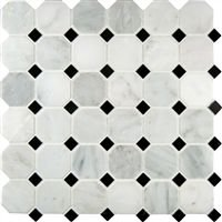"Calacatta 2x2"" Hexagon Honed (BOX OF 10SF)"