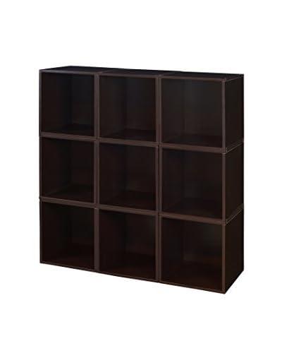 Niche Cubo 9-Pack Storage Cube Set, Truffle