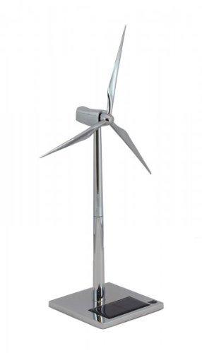 FatCat FCP1084 Solar Wind Turbine-Silver Metal