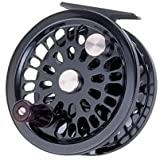 New! Abel Super 7/8N Standard Arbor Fly Reel Black