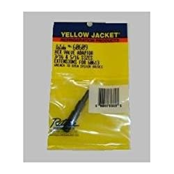 Yellow Jacket 60609 Hex Key Adapter for 3/16 & 5/16 NEW