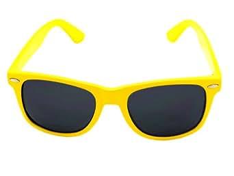 Neon Yellow Wayfarer Sunglasses