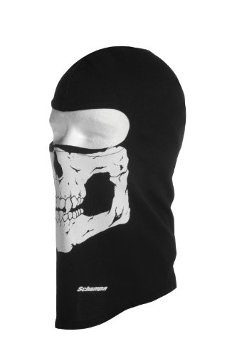 Schampa Lightweight Skull Balaclava (Traditional) Apparel ...