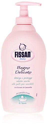 Fissan - Bagno Delicato, Deterge e Protegge con Estratti di Camomilla, Per Bambini - 400 ml