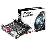 ASRock マザーボード AMD Athlon Sempron(Kabiniコア) AM1 Mini-ITX PrinterPort AM1B-ITX