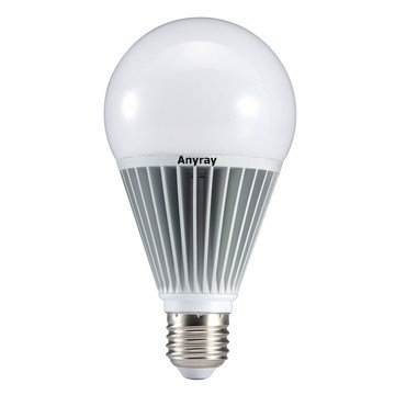Anyray® 100 Watt Equal Led Light Bulb 1200 Lumen 15 Watt Soft White (100W Replacement) Dimmable E26