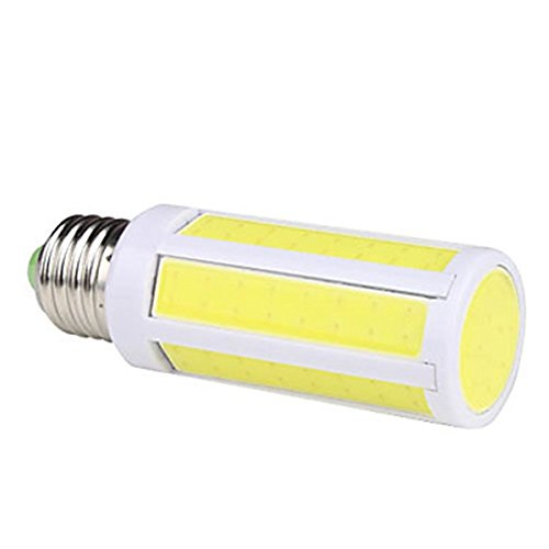 Generic E27 7W 600Lm 6000-6500K Natural White Light Cob Led Corn Bulb (220V)