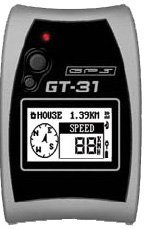 GT-31: Genie GT-31 Waterproof Sport GPS Data Logger with SD Expansion Slot