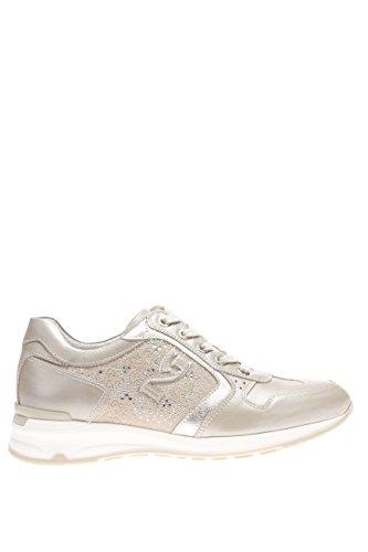 P615092D-505.Sneaker in pelle.Savana.37
