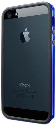 国内正規品・日本限定モデルSPIGEN SGP iPhone5/5S ケース ネオ・ハイブリッド EX スリム ビビッドシリーズ [ロイヤルブルー](BK) SGP10072