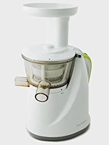 Amazon.com: Hurom Slow Juicer - White - Juice Extractor Machine - Fruit, vegetable & Wheatgrass ...