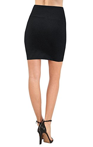 bodycon above knee mini pencil skirt for