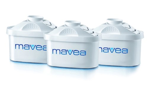 MAVEA 1001122 Maxtra Replacement Filter for MAVEA Water Filtration Pitcher, 3-Pack