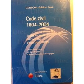 code-civil-1804-2004-cdrom-edition-luxe