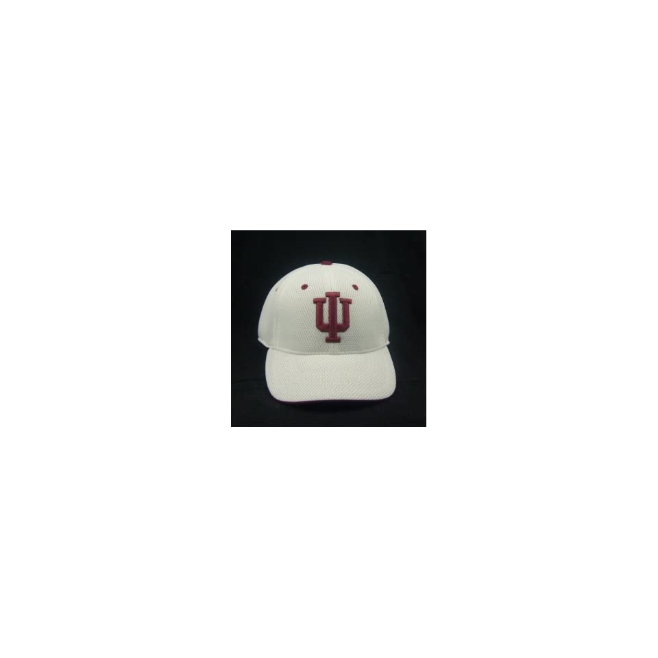 INDIANA HOOSIERS OFFICIAL NCAA LOGO ONE FIT PERFORMANCE HAT CAP