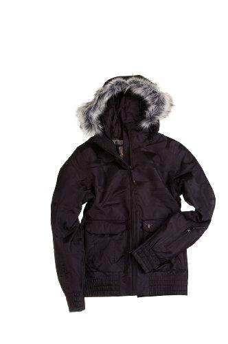 Chiemsee Damen  WOMAN'S SNOW JACKET GISELLE JACQUARD, 900 black, M