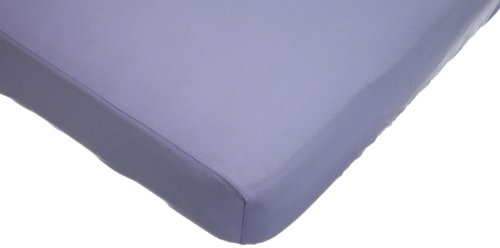 American Baby Company Supreme Jersey Knit Fitted Crib Sheet, Lavender (Lavender Crib Sheet compare prices)