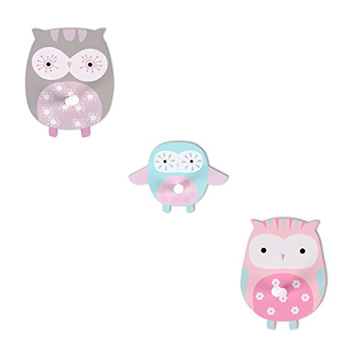 hoddmimis-home-living-decorative-wall-hook-for-kids-owl-graphicsset-of-3