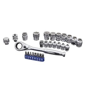 Kobalt 27pc Xtreme Access Socket Set