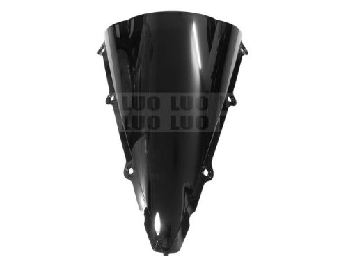Brand New Motorcycle Accessories Racing Black ABS Plastics Windshields Windscreen Fit For Yamaha YZFR1 YZF R1 R 1 2002 2003 custom cheap injection fairings for yamaha yzf r1 2002 2003 fairing kit yzfr1 02 03 yzf r1 full black abs plastic parts