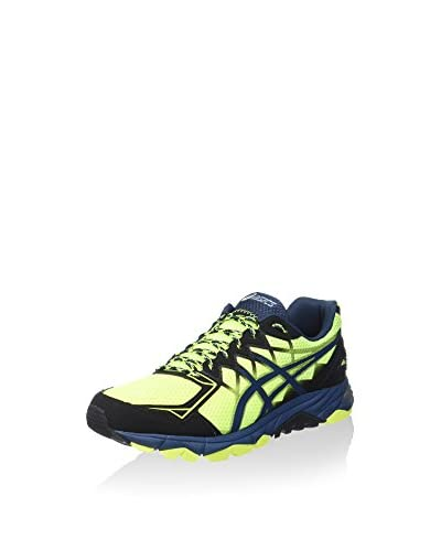 Asics Sneaker Gel-Fujitrabuco 4 [Blu/Nero/Giallo]
