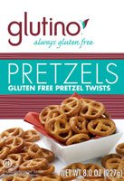 Glutino Gluten Free Pretzel Twists, 8-Ounce Bags (Pack of 3)
