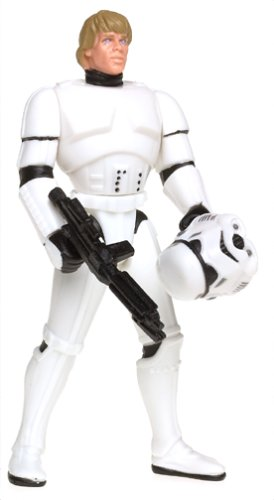 Star Wars: Power of the Force Freeze Frame Luke Skywalker in Stormtrooper Disguise Action Figure