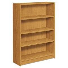 * 1890 Series Bookcase, 4 Shelves, 36w x 11-1/2d x 48-3/4h, Harvest